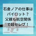パイロット航空飛行機
